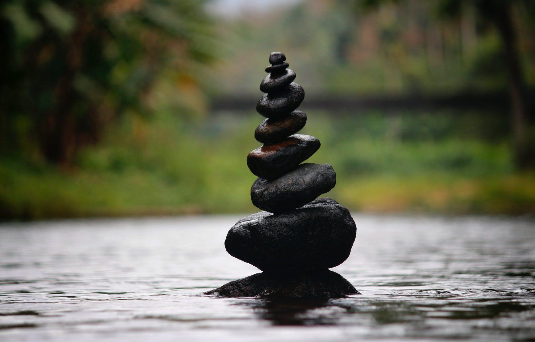 carin balance in river