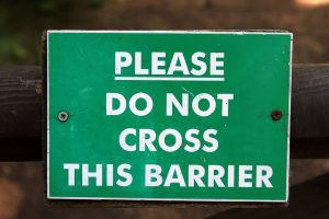 barrier and boundaries