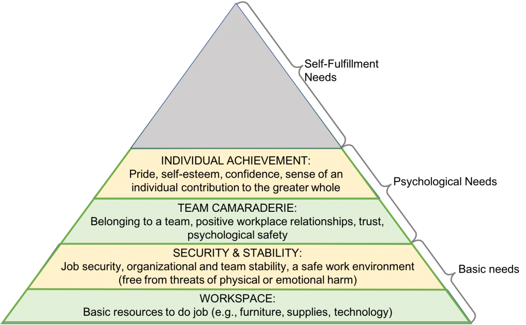 employee basic and psychological needs