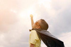 Express Gratitude: Superhero - compliment yourself