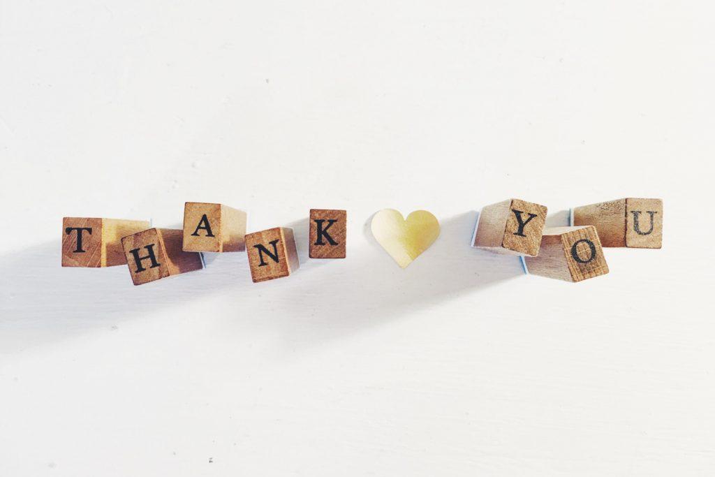 Express Gratitude: Thank You Blocks