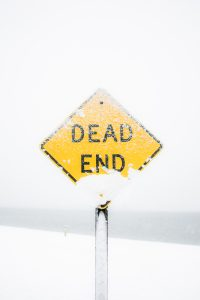 dead end - missed opportunity